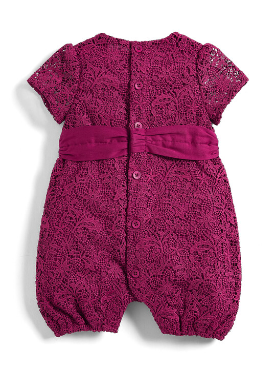 Lace Bow Romper image number 2