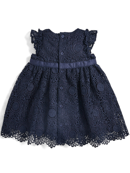Lace Dress - Navy image number 2