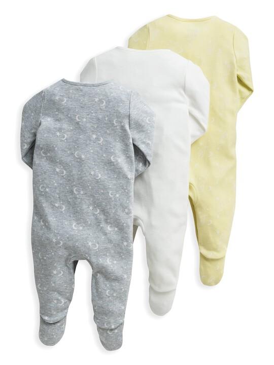 3 Pack Eid Sleepsuits image number 2