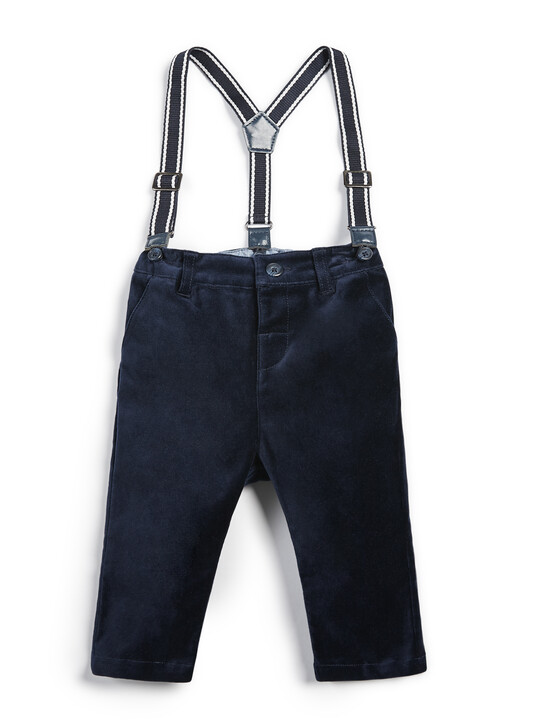 Moleskin Trousers - Navy image number 1