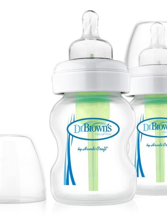 Dr Brown's Natural Flow Wide-Neck Baby Bottle - 5oz ( Pack of 2) image number 1