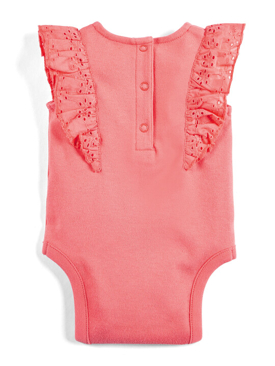 Coral Frill Bodysuit image number 2