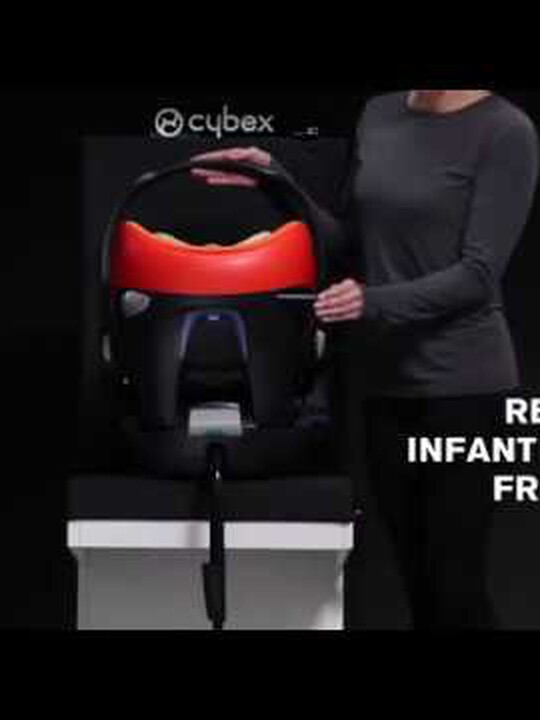 CYBEX Aton Q Car Seat - Black Jack image number 2