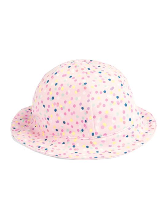 Spot Print Reversible Hat image number 1