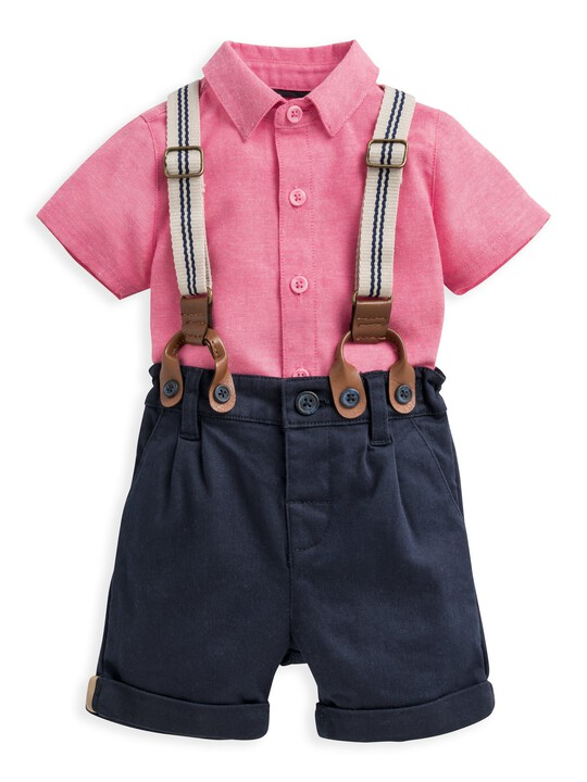3 Piece Shirt, Shorts & Braces Set image number 1