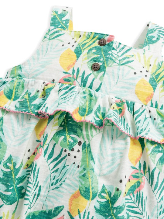 Tropical Shortie Romper image number 3