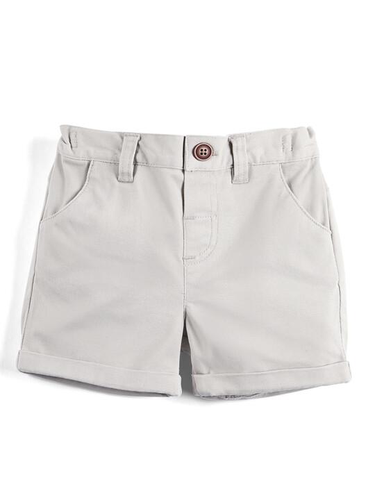 Tan Chino Shorts image number 1