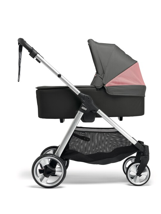 Armadillo Flip XT² Signature Edition Athleisure Pushchair - Grey/Coral image number 3