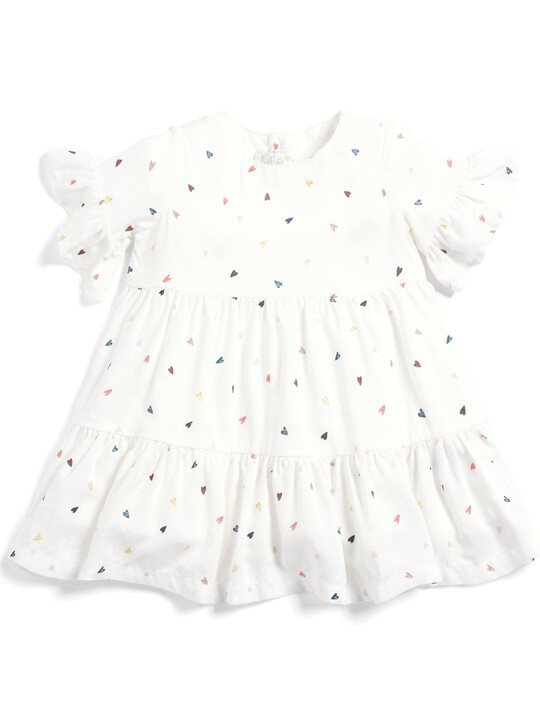 Heart Print Dress image number 1