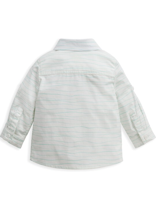 Wave Print Shirt image number 3