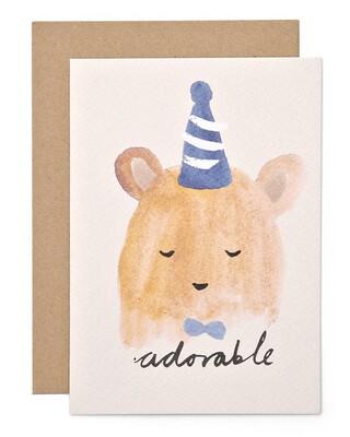 Card - Adorable Bear