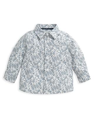 Ditsy Paisley Print Shirt