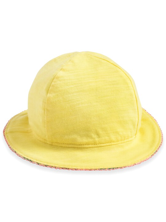 Tropical Print Reversible Hat image number 2