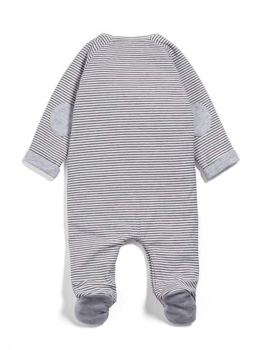 Henley Stripe All-in-One image number 2