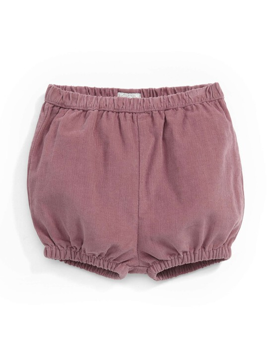 Cord Bloomer Shorts image number 1
