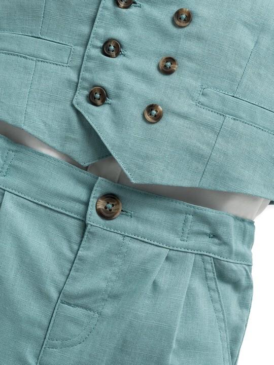 4 Piece Waistcoat & Shorts Set image number 8