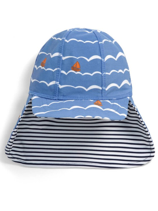 Boat Print Sun Hat image number 1