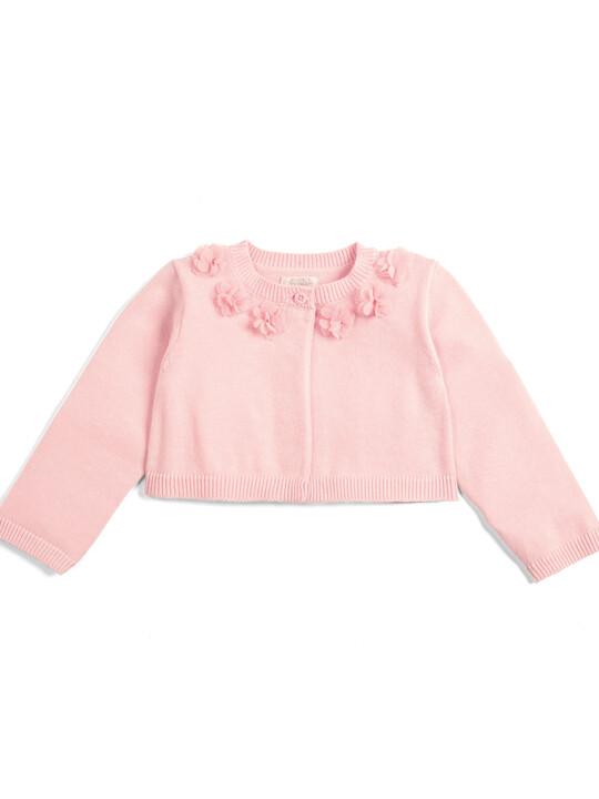 Floral Cardigan - Pink image number 1