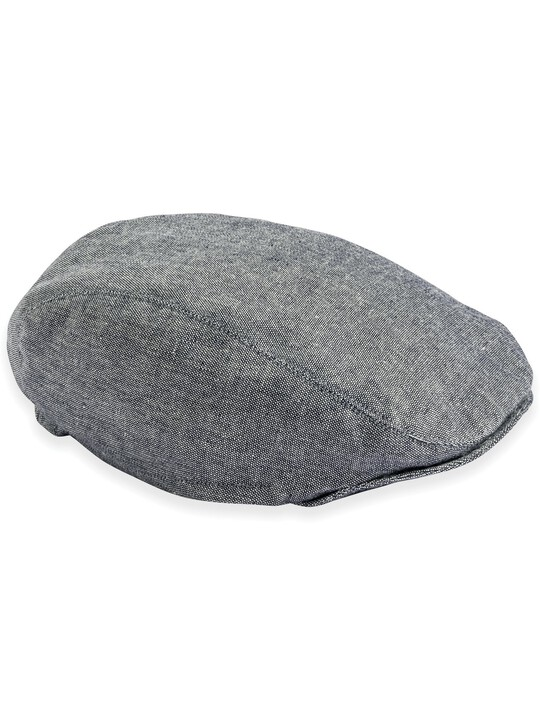 Chambray Flat Cap image number 1