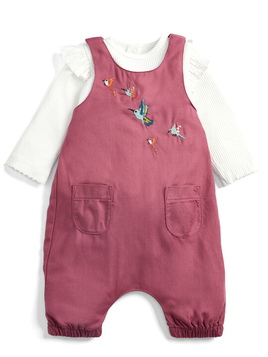 Bodysuit and Dungaree Set - 2 Piece image number 1