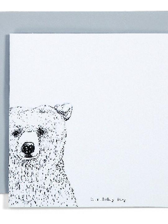 Card - Birthday Boy Bear image number 1